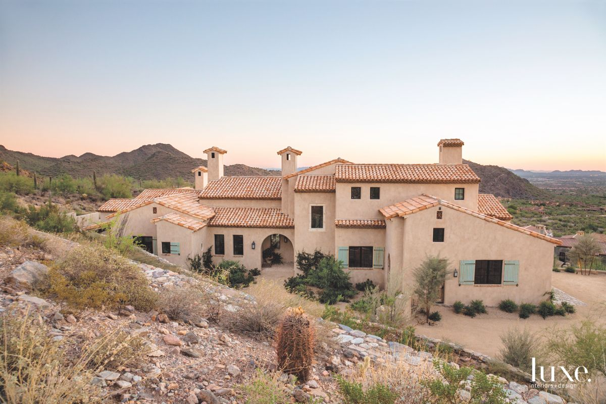Scottsdale Hillside Lot with Mediterranean Feel