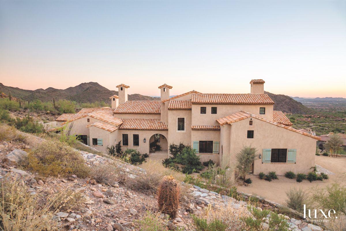 Scottsdale Hillside Lot with Mediterranean Feel