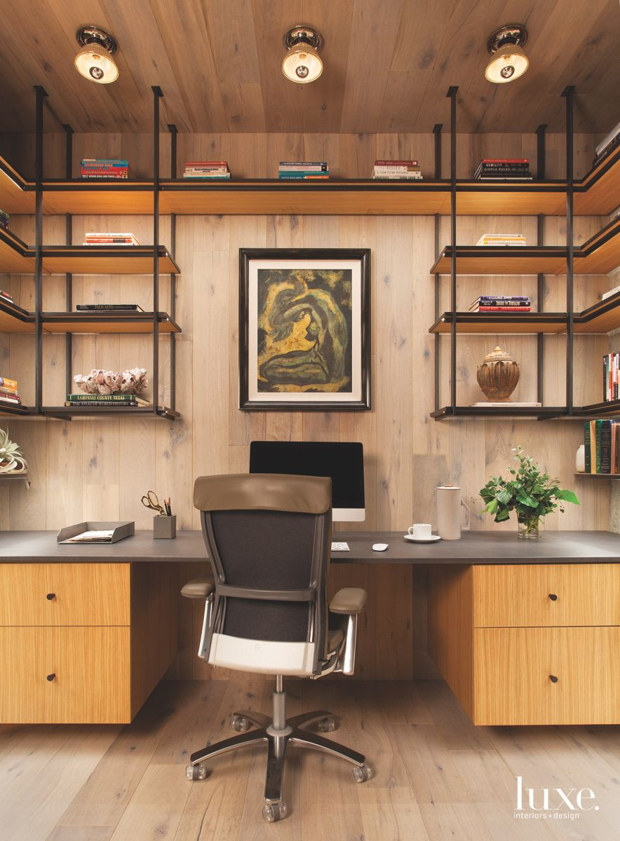 All Wood Surround Office