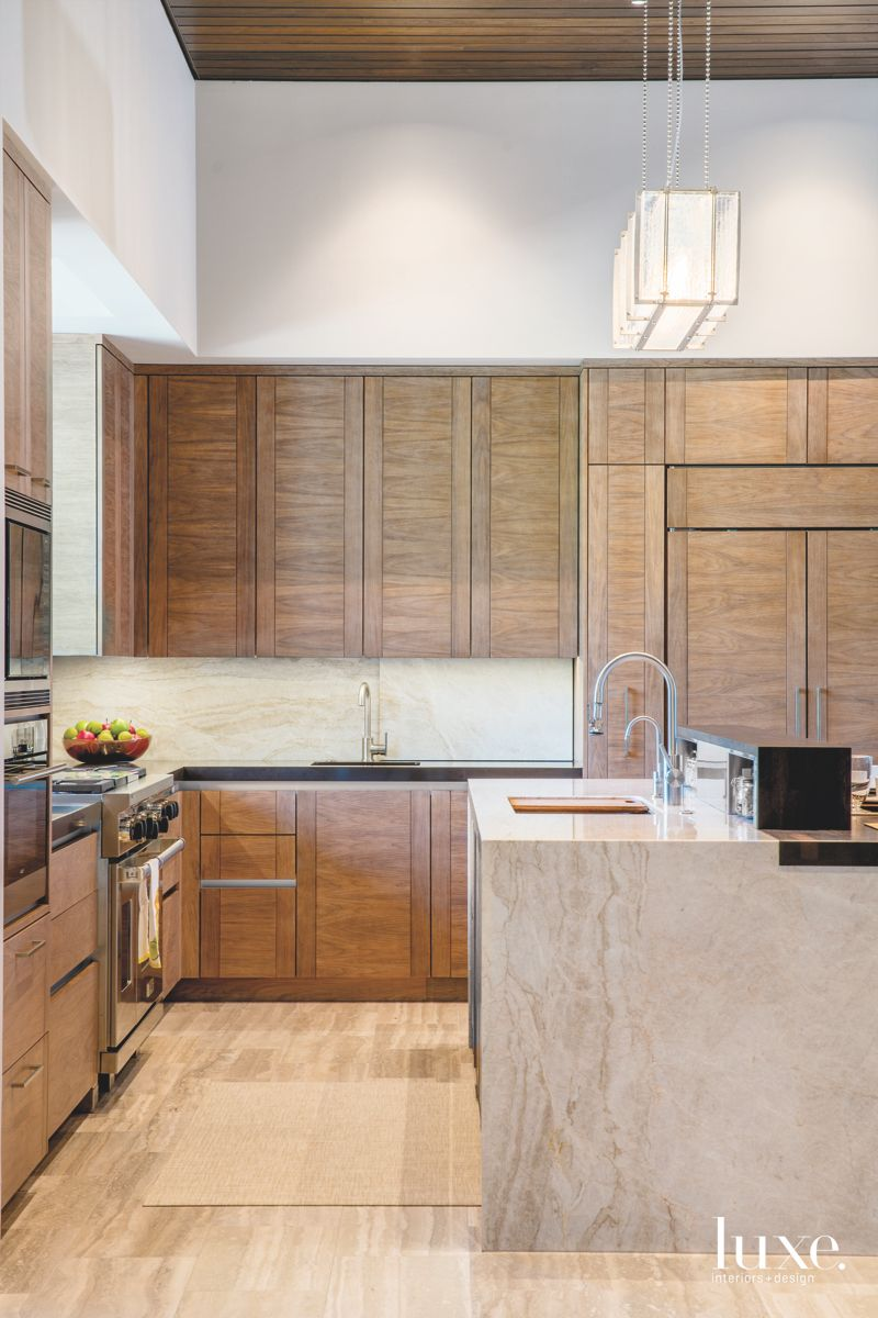 Walnut Cottonwood Cabinetry Kitchen in Arizona
