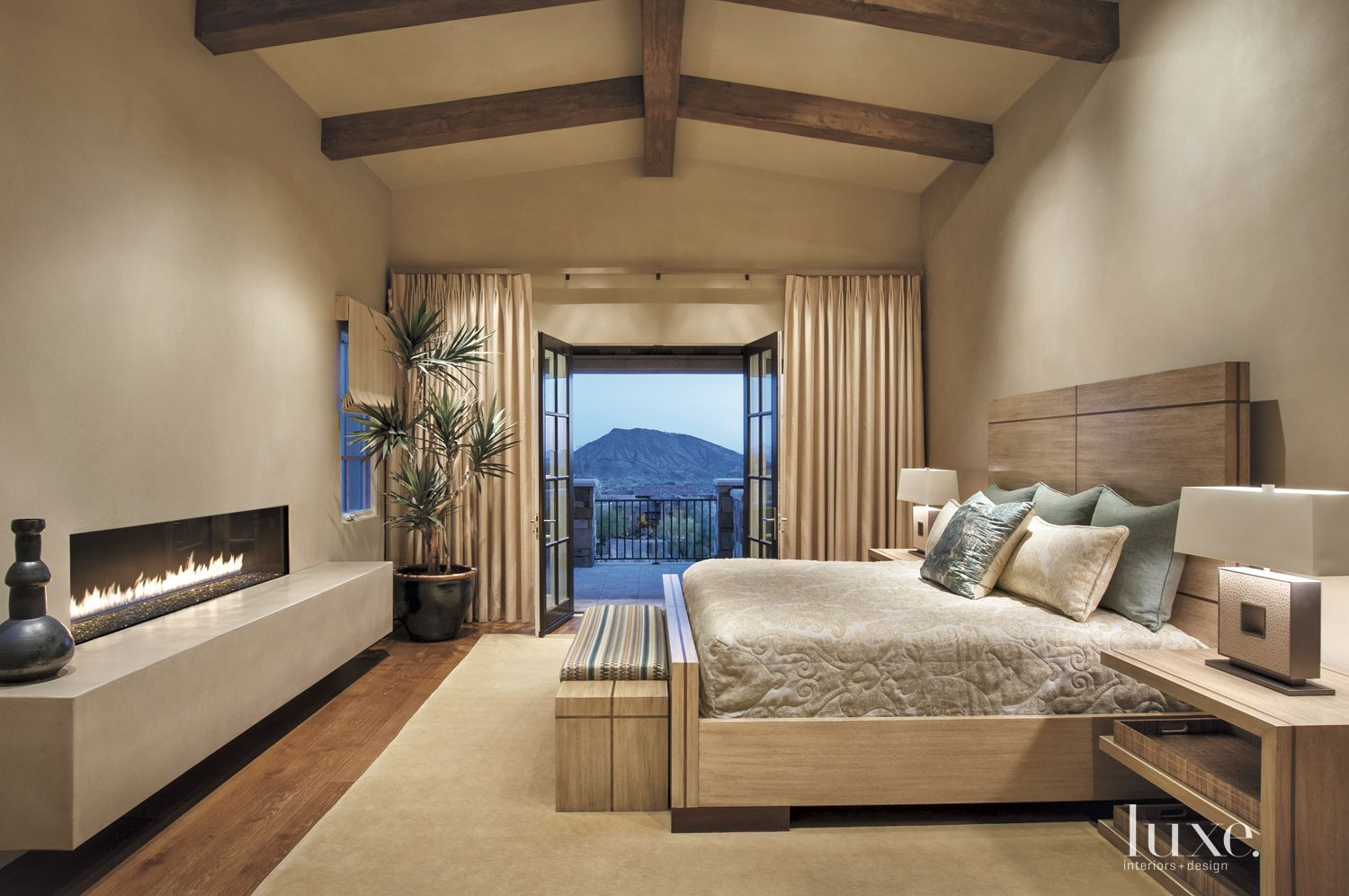 Contemporary Neutral Master Suite