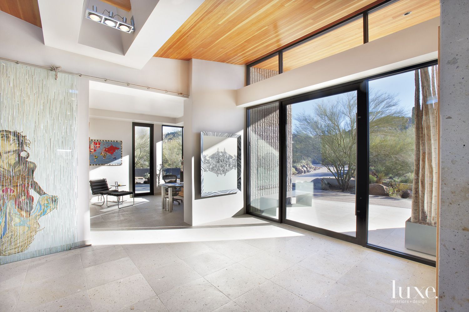 Modern White Front Entry