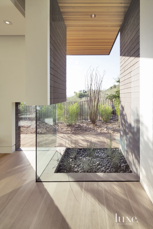 Modern Master Bedroom Corner Window