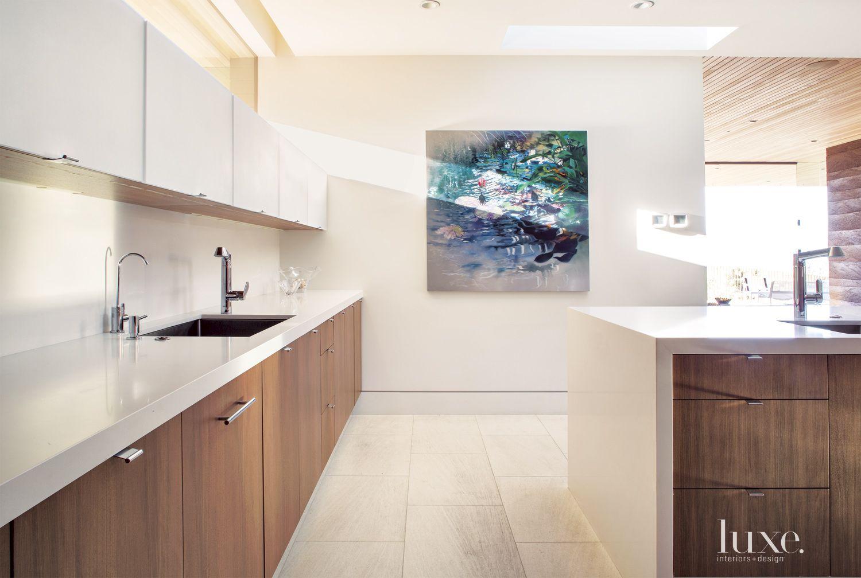 Modern Neutral Kitchen Painting