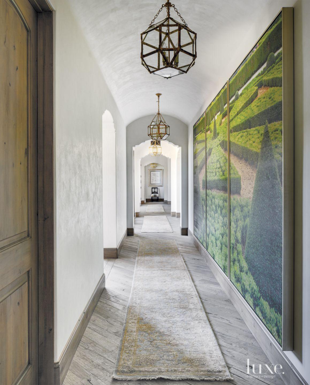 Mediterranean Cream Hallway