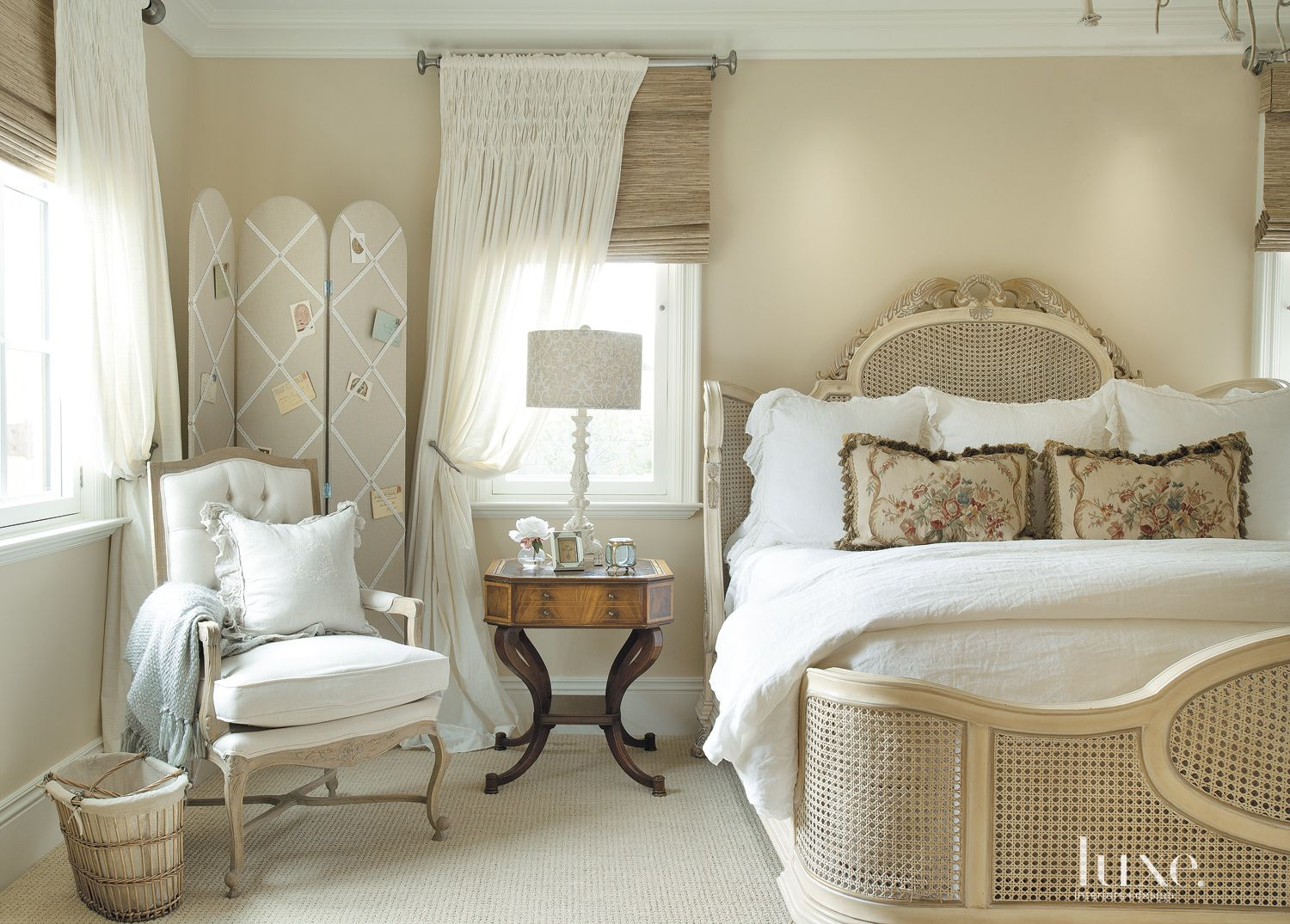 Country Cream Master Bedroom