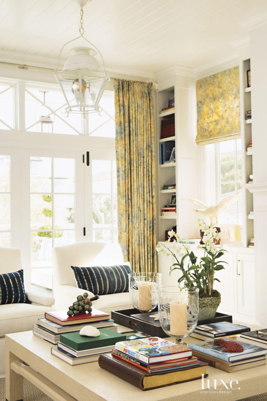 Contemporary Living Room Vignette