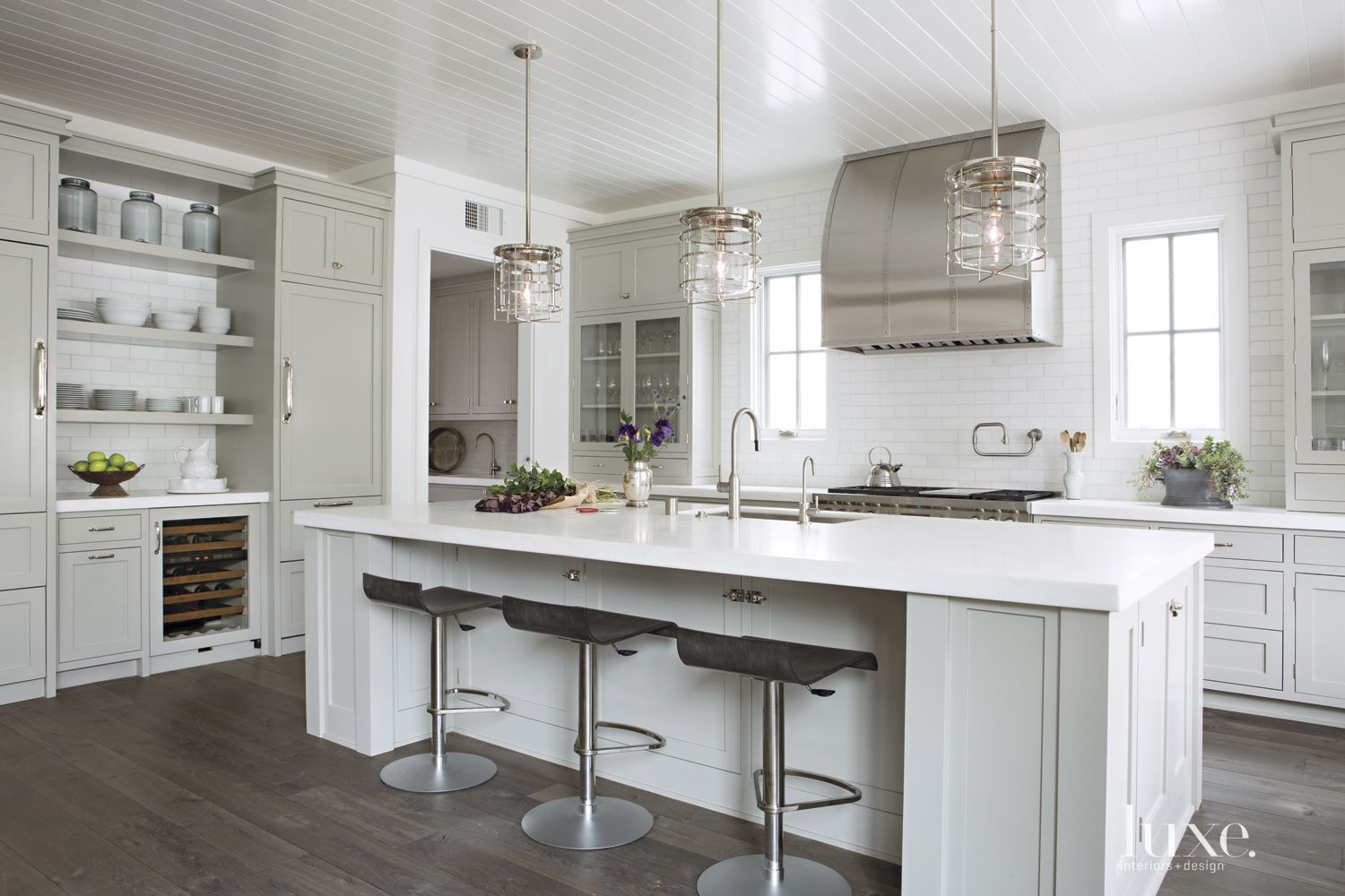 Contemporary Taupe Kitchen