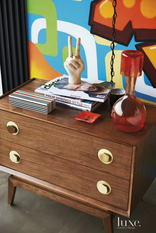 Modern Master Bedroom Nightstand Accents