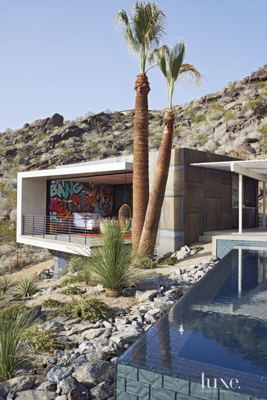Modern White Poolside Addition