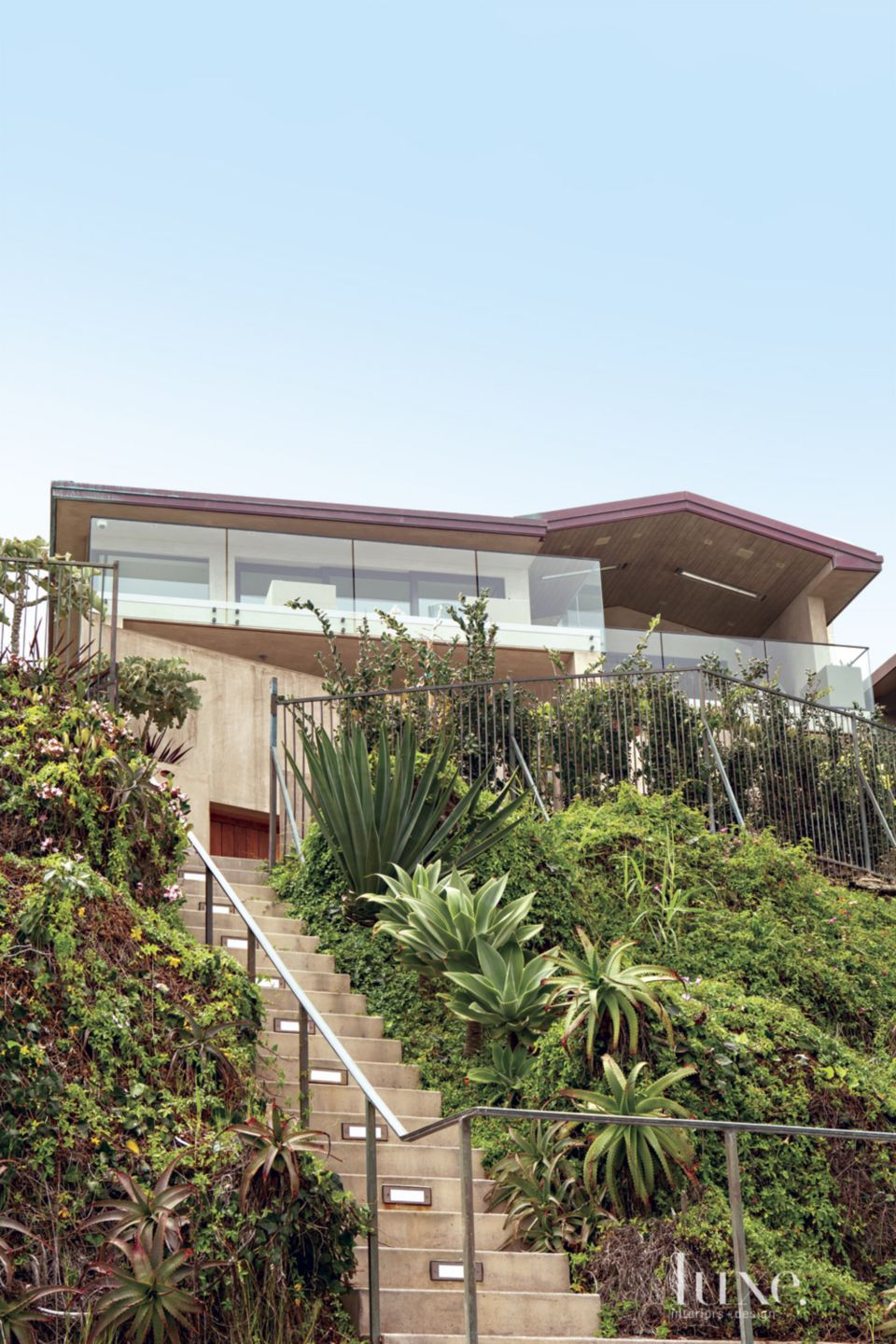 Contemporary Neutral Exterior with Succulents