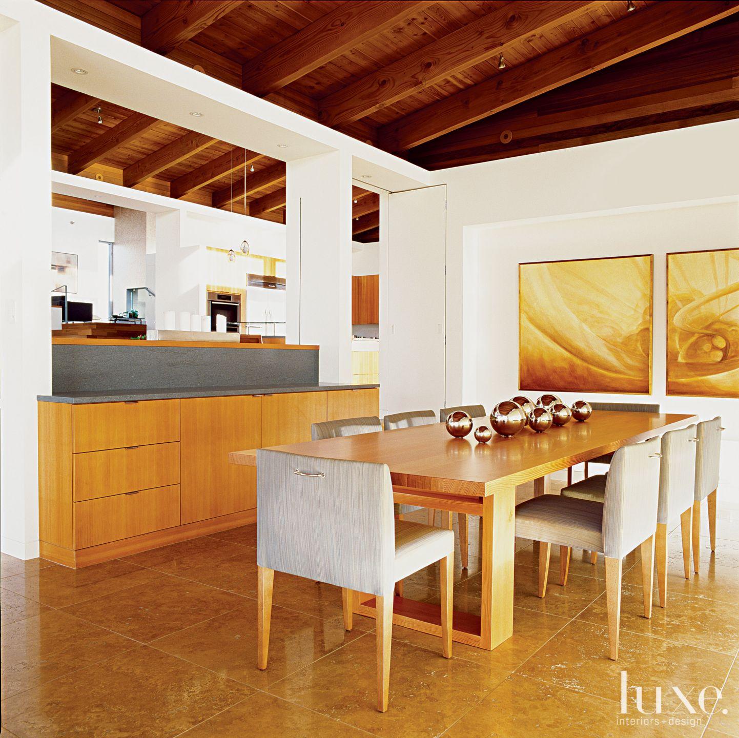 Modern White Dining Room Buffet