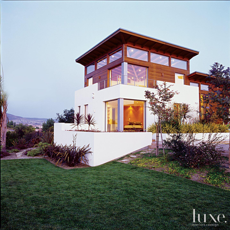 Modern Exterior with Hidden Terrace