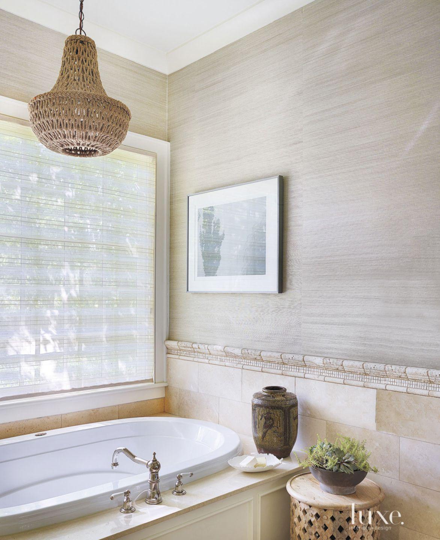 Contemporary Neutral Master Bath