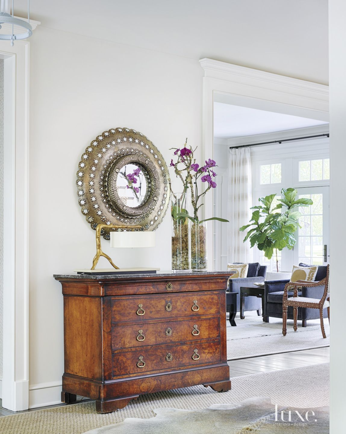 Contemporary Entry Accent Chest