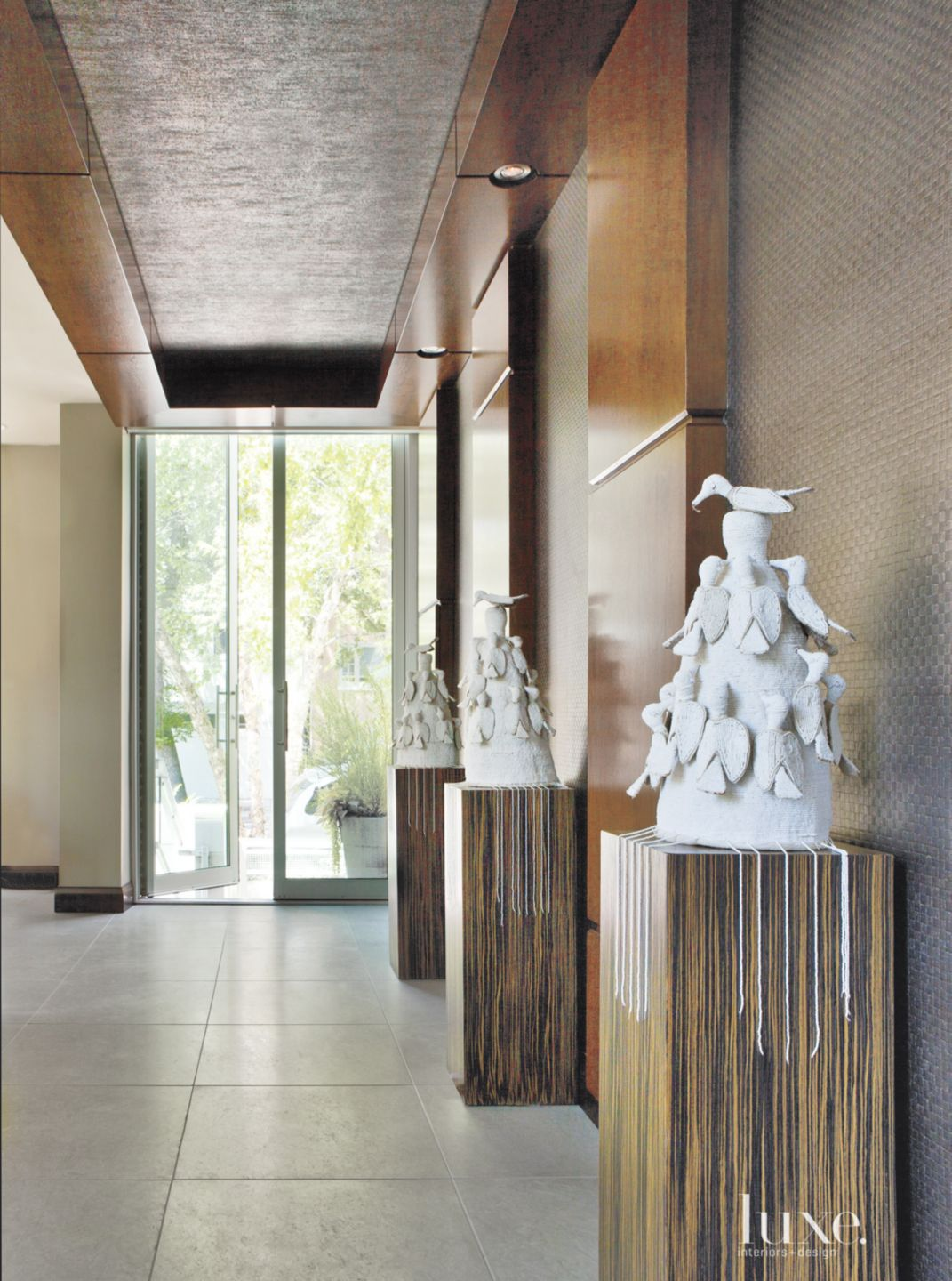 Contemporary Neutral Entry Hallway