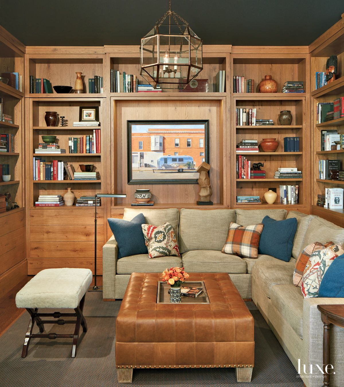 Transitional Brown Study with Secret Door