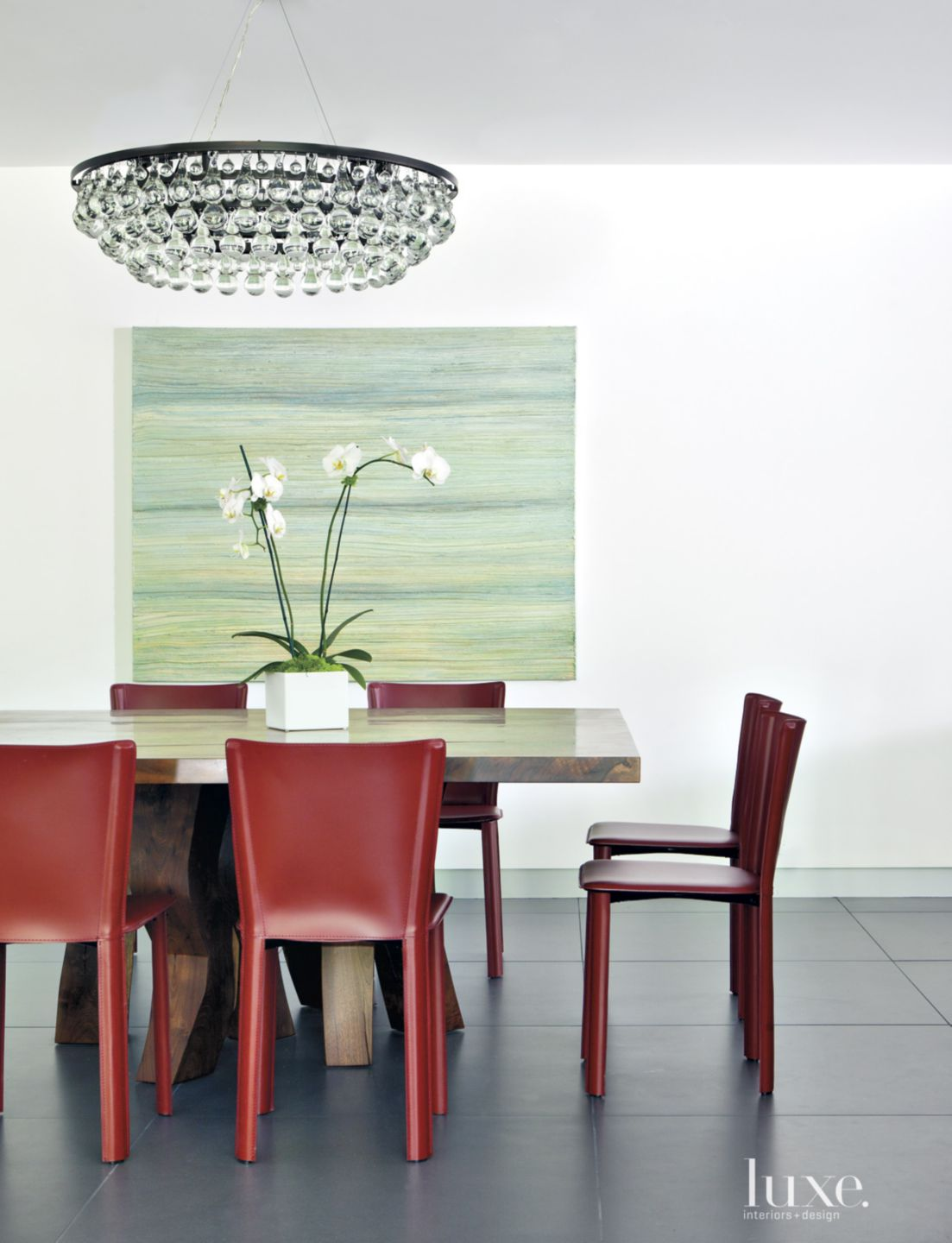 Modern Dining Room with Contemporary Detail