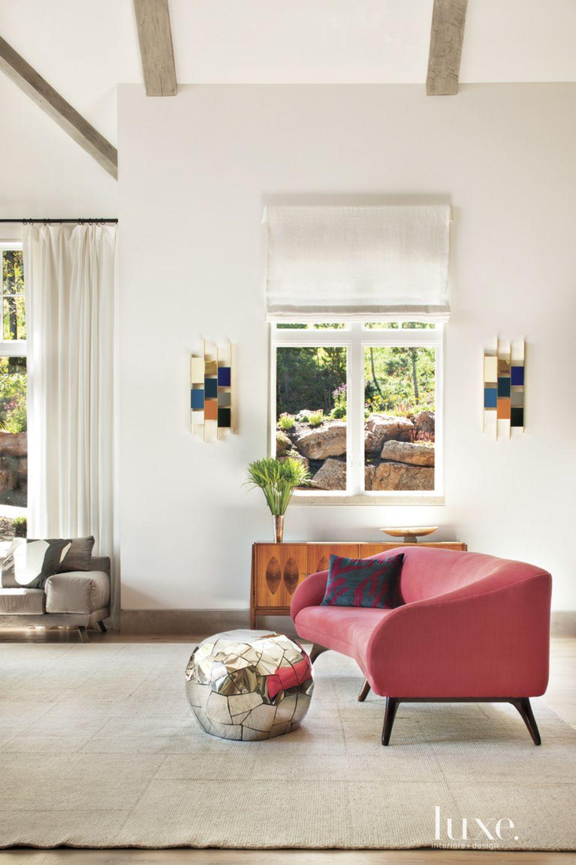 White Mountain Living Room Sofa