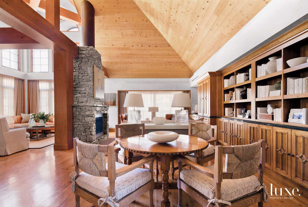 Contemporary Neutral Great Room with