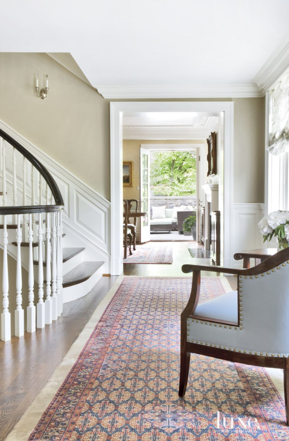 Traditional Cream Second Floor Landing