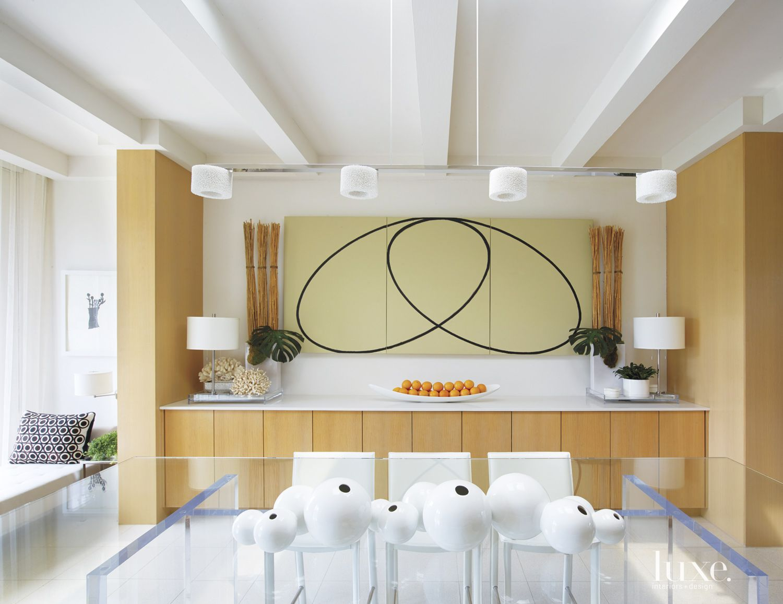 Contemporary Oak Kitchen Niche