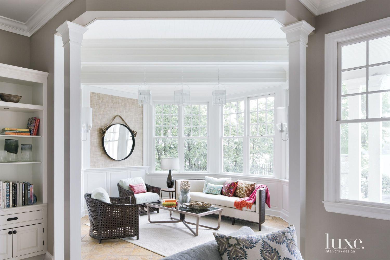 Contemporary Cream Sunroom