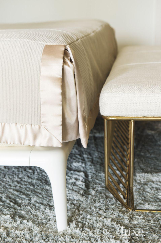 Eclectic Cream Bedroom Detail