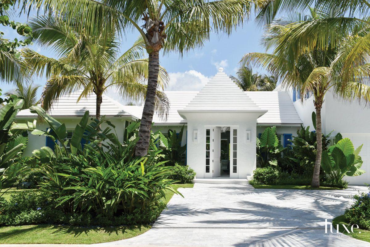 Contemporary White Exterior with Bermudan Influences