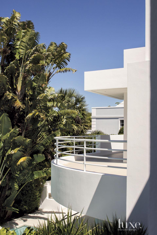 Modern White Balcony Exterior