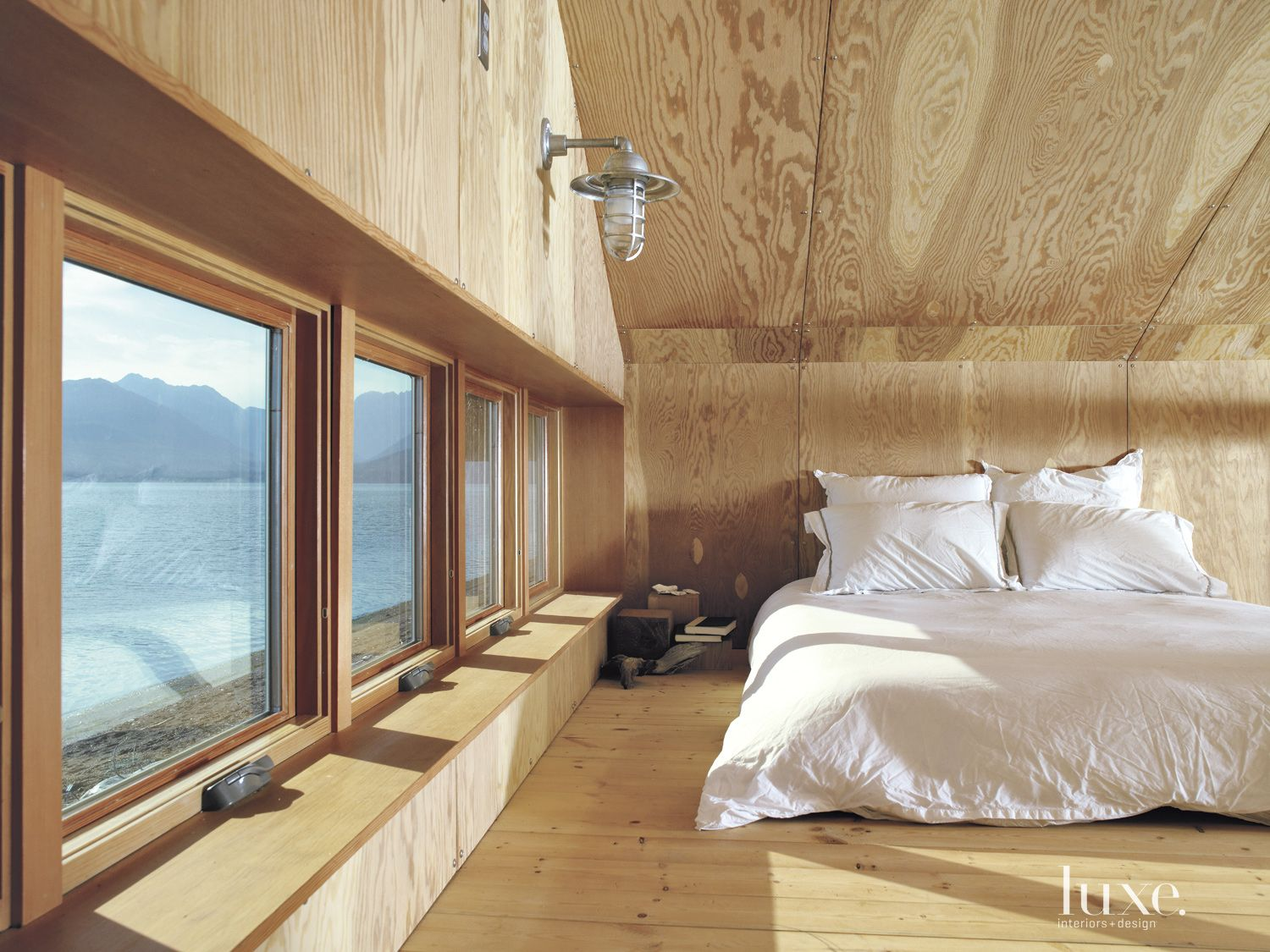 Neutral Cedar Mountain Boathouse Sleeping Loft