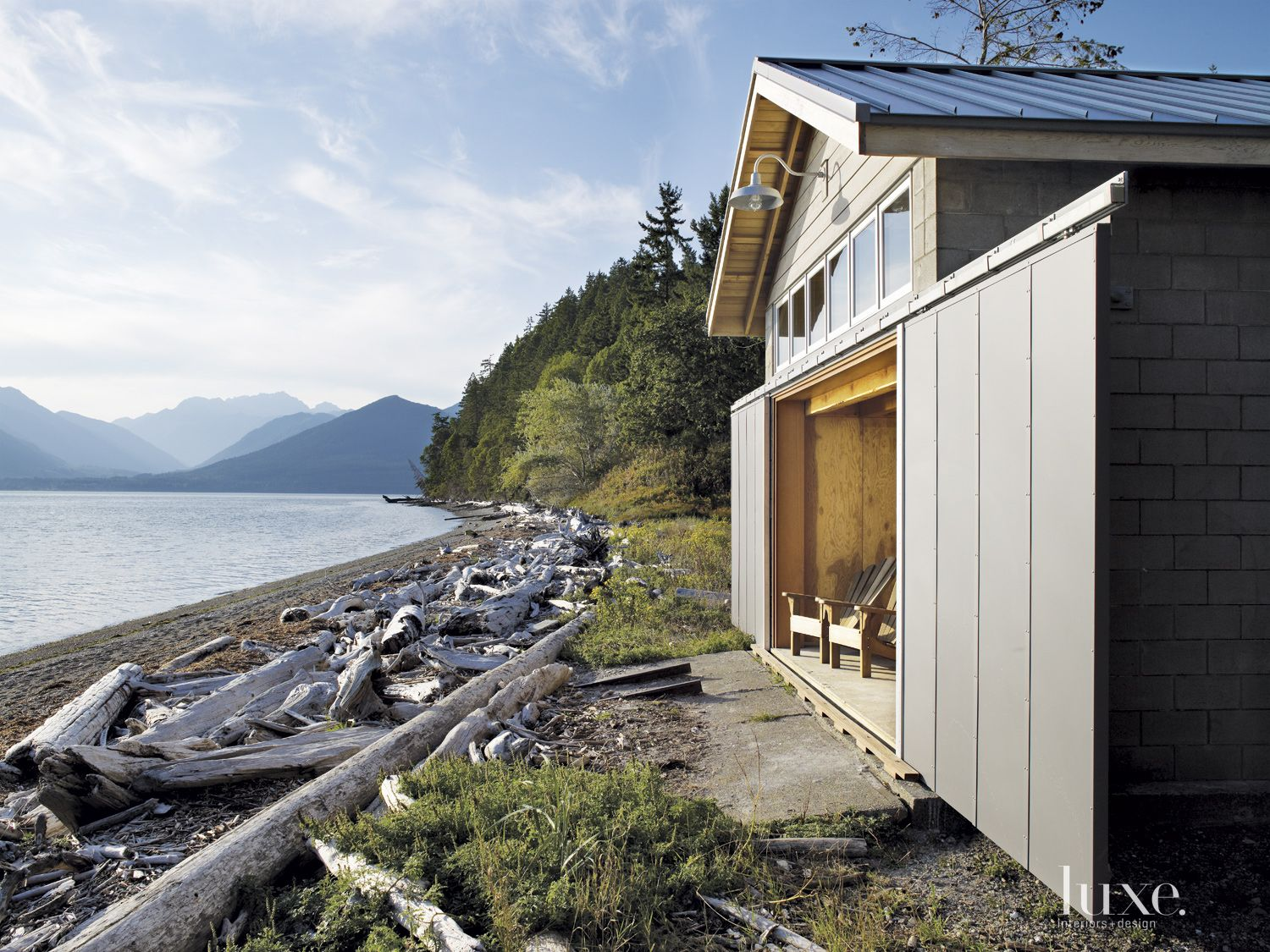 Gray Mountain Boathouse Waterfront