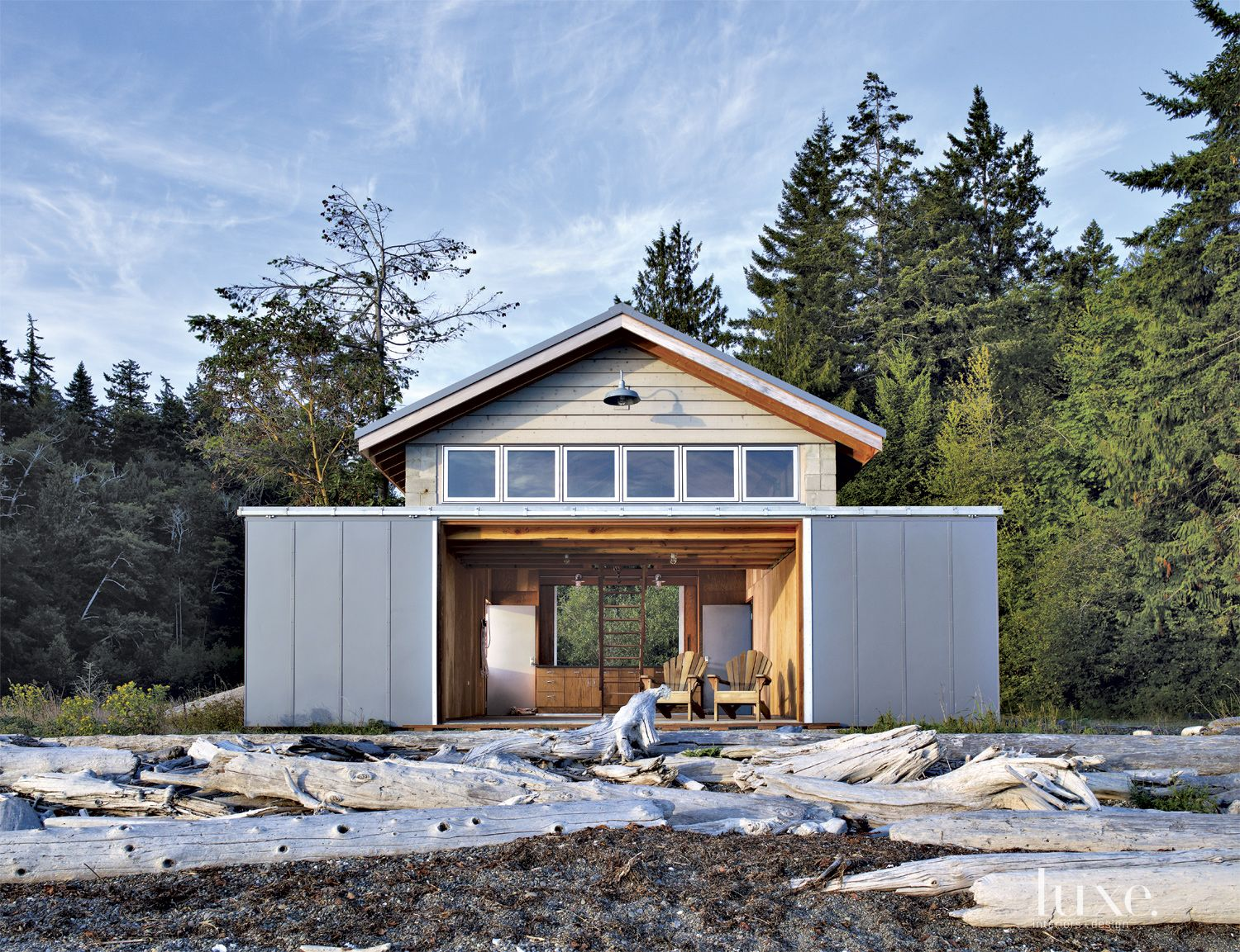 Gray Mountain Boathouse Exterior
