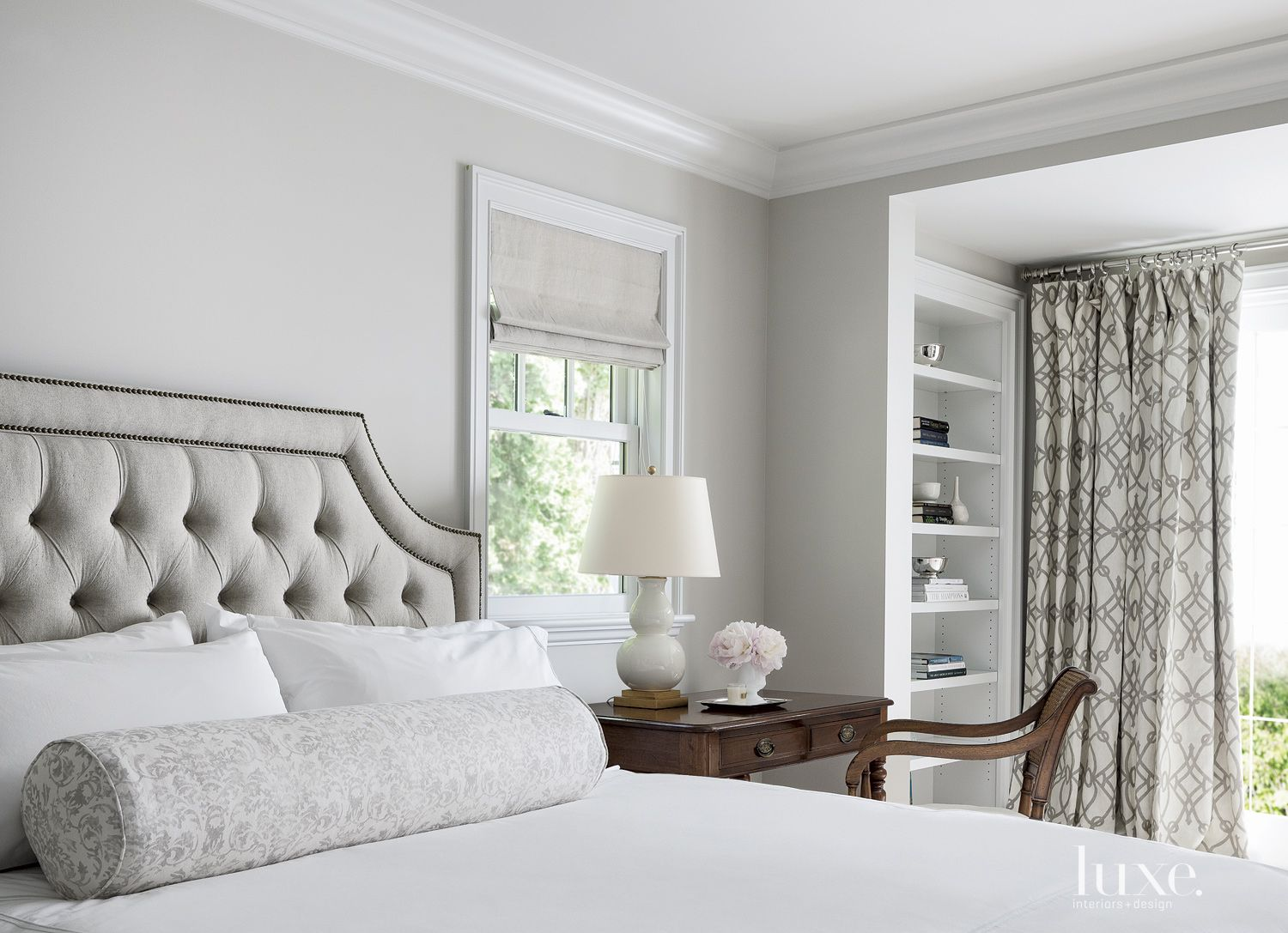 Traditional White Guest Suite