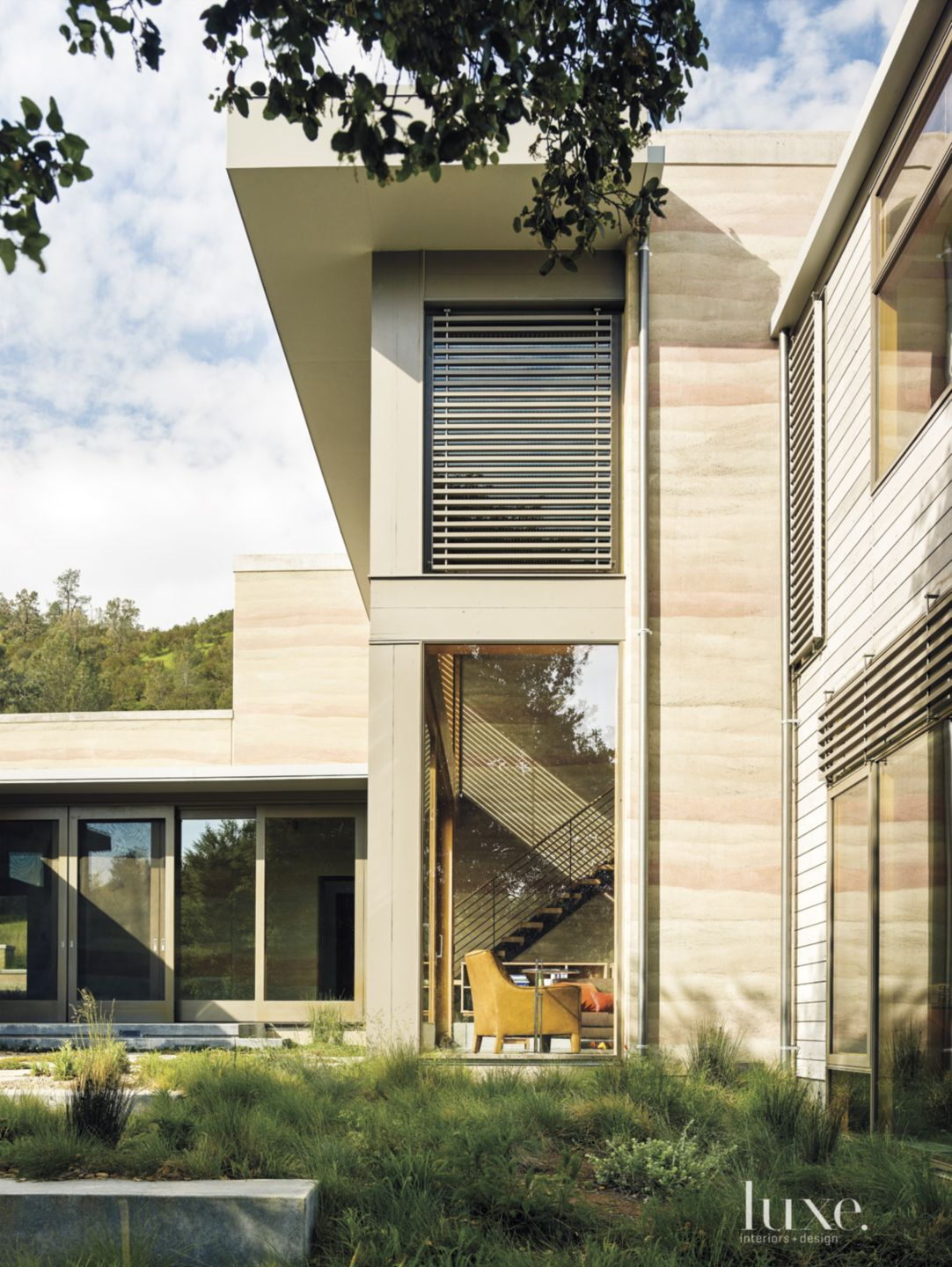 Modern Neutral Exterior with Picture Window
