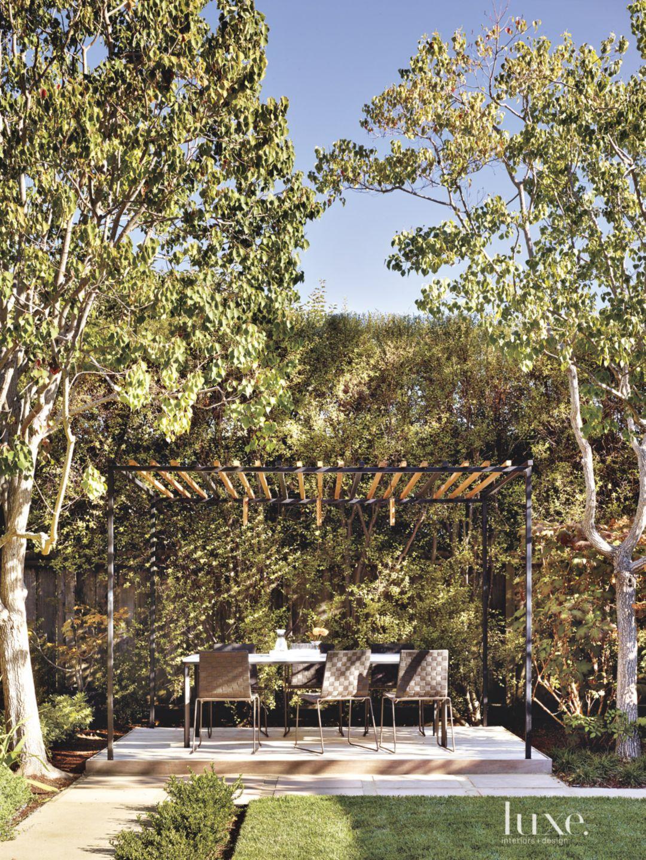 Contemporary Backyard Pavilion
