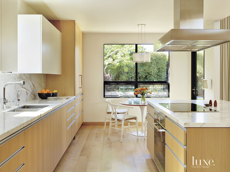 Contemporary White Oak Kitchen