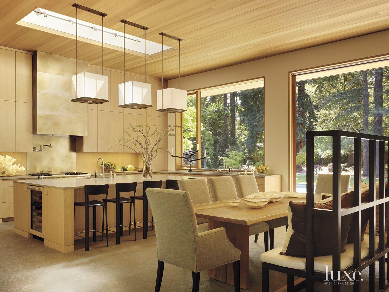 Modern Open Plan Breakfast Area