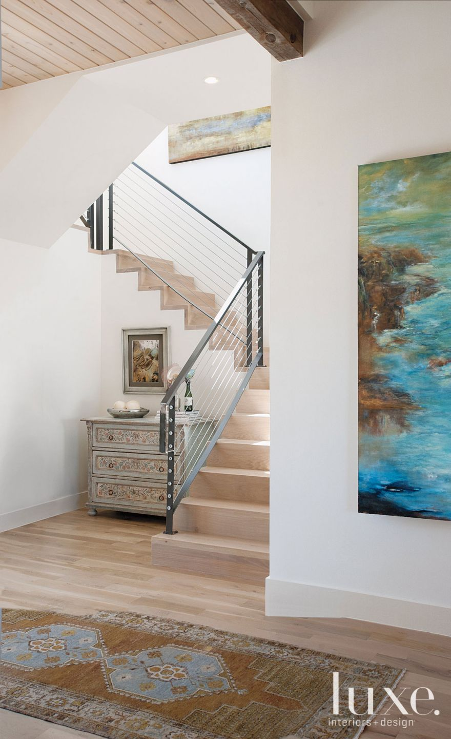 Neutral Modern Staircase
