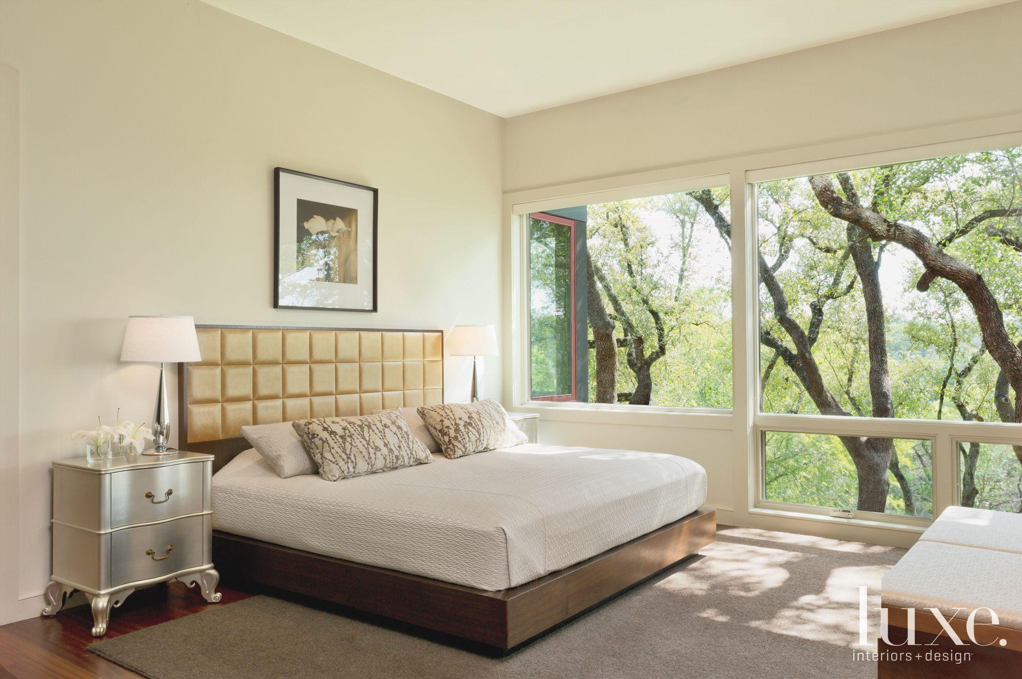Modern Cream Master Bedroom