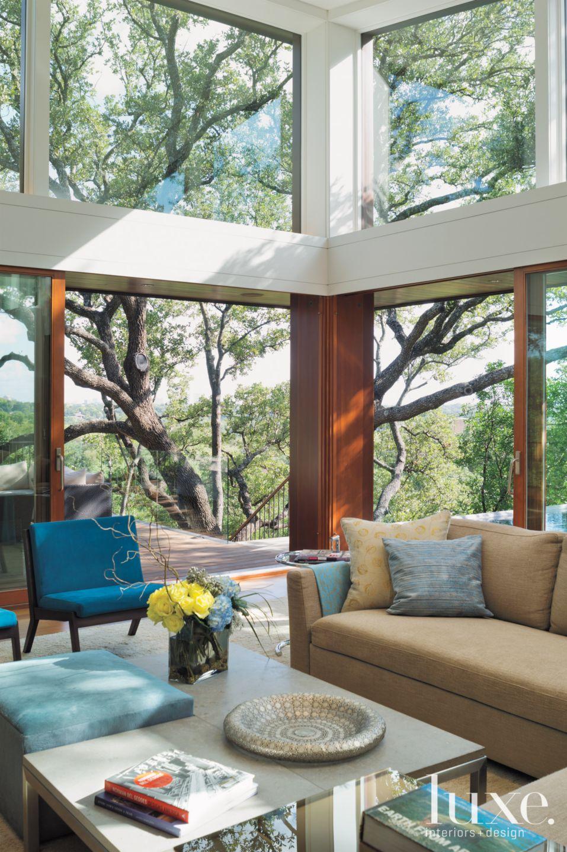 Modern Living Room View