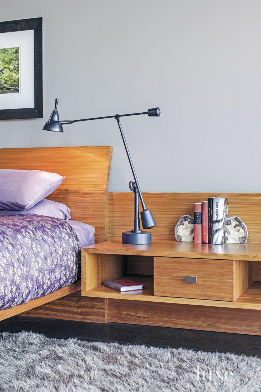 Contemporary Gray Master Bedroom