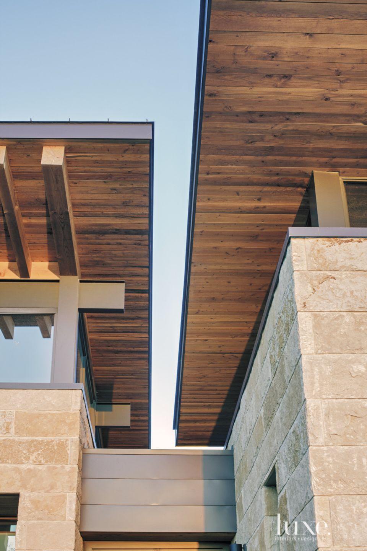 Modern Douglas-Fir Butterfly Roof