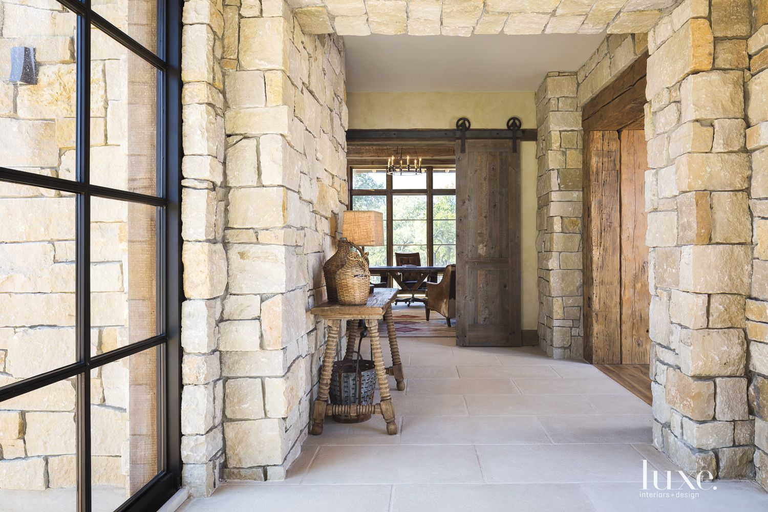 Country Neutral Hallway Console