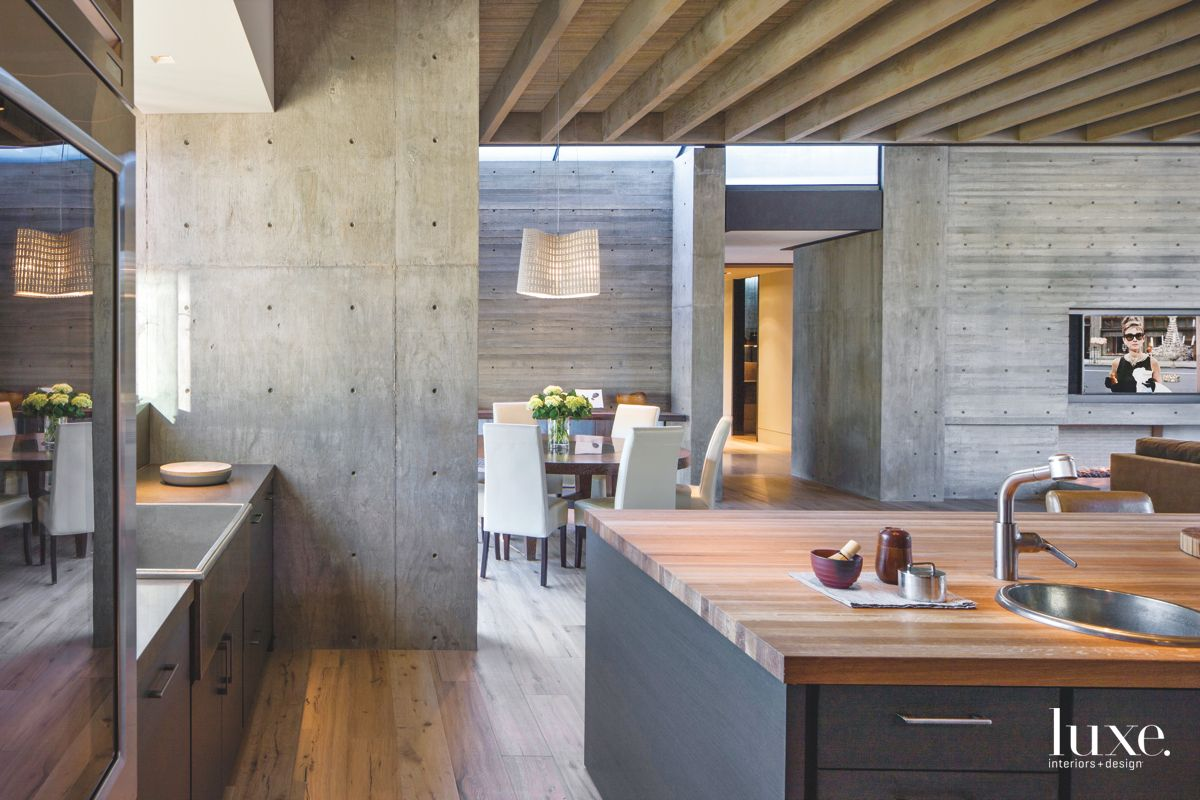 Concrete and Wood Mix