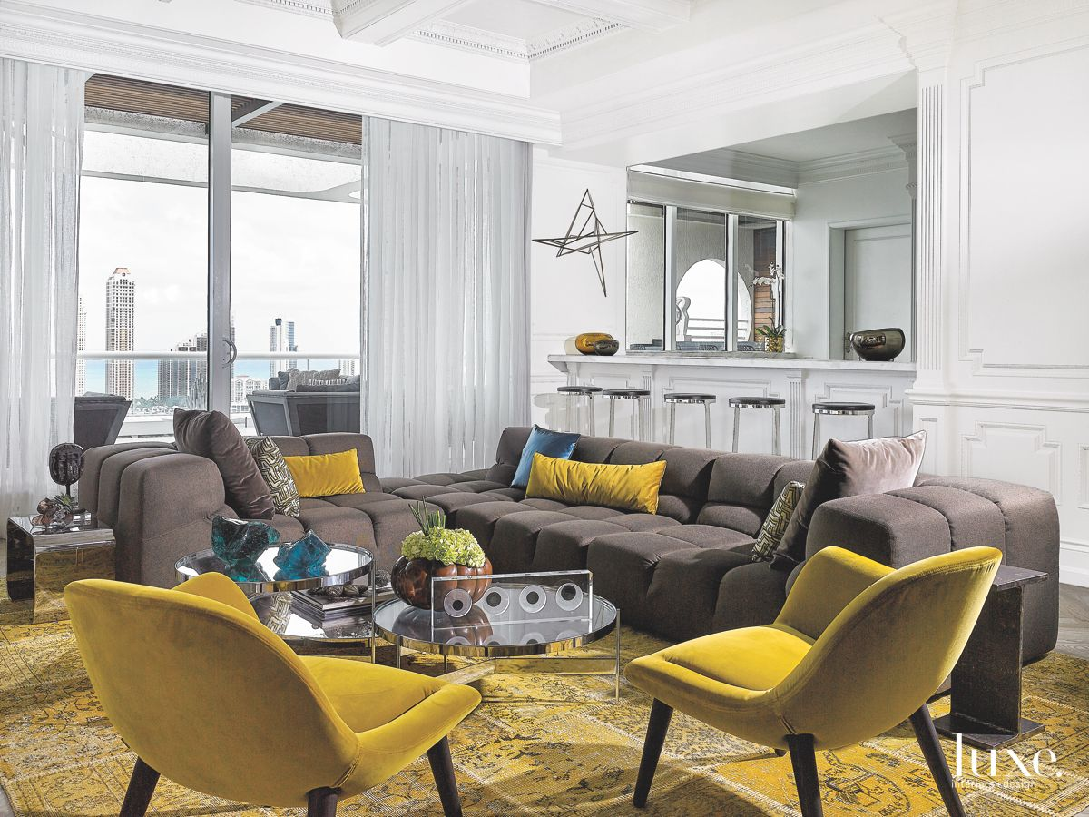 Additional Kitchen in Modern Miami Home