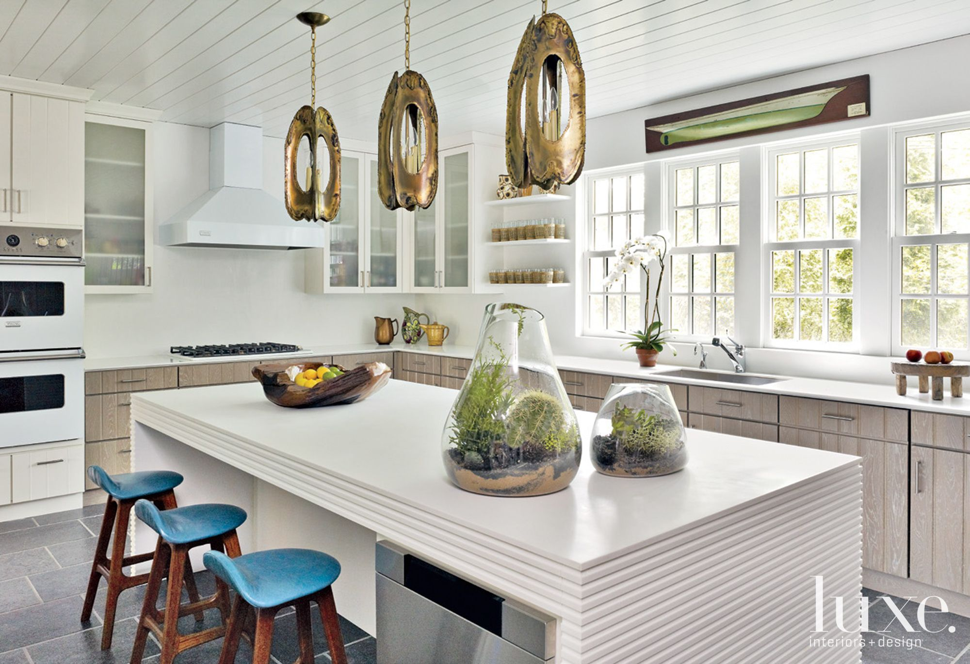 Country Inflected Contemporary Kitchen