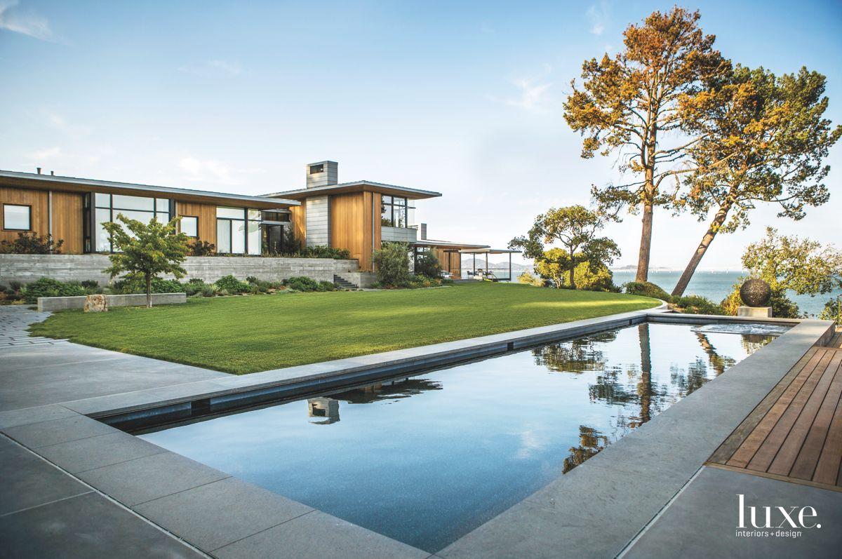 Reflective Pool Alongside the San Francisco Bay