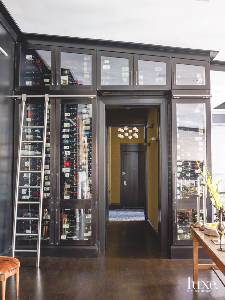New Decor Spin on a Wine Cellar
