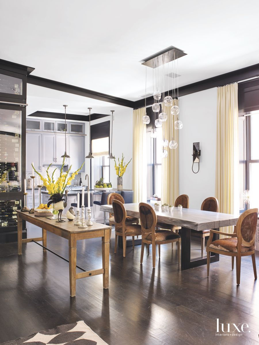 Dining Room with Ostrich Flair